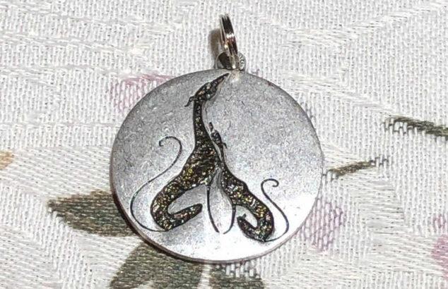 whippet pendant