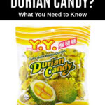 a package of wrapped durian candy