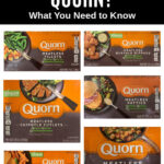 photo collage of Quorn products