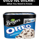 a package of Breyers Oreo ice cream