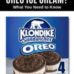 a package of Klondike Oreo ice cream sandwiches