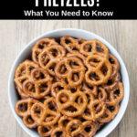 mini pretzels in a bowl