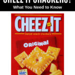 Cheez It baked snack crackers box