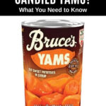 a can of Bruce's Yams