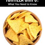 a bowl of corn tortilla chips