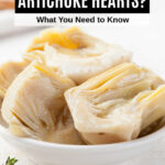 artichoke hearts in a bowl