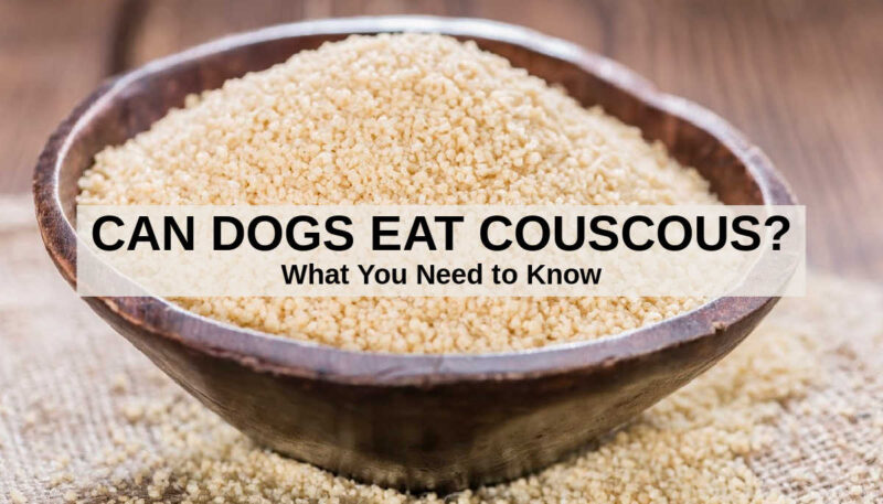 couscous in a wood bowl