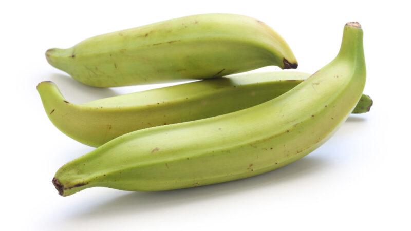 three plantains