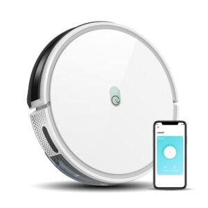 yeedi k650 robot vacuum and mobile phone with app