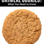an oatmeal cookie