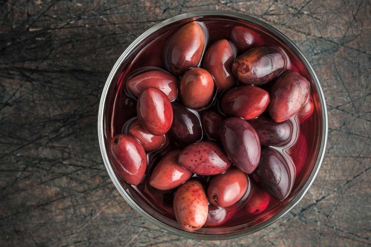 kalamata olives in a bowl